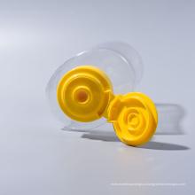 280g pet bee mel garrafas com tampas de válvula de silicone (EF-H11280)