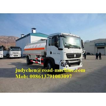 4x2 SINOTRUK HOWO fuel tanker truck 5000L