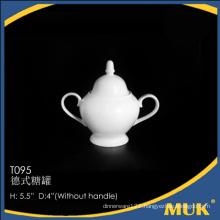 china supplier super white luxury new bone china sugar pack