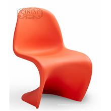 Chaise de loisirs confortable en forme de S sans coussin