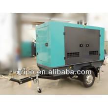 Generador diesel móvil de 50kw para la venta con el motor de los cummins