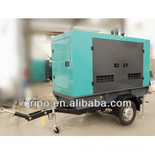 50kw movable diesel generator for sale with cummins engine