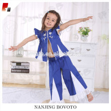 Salwar royal blue suit coat&pant 2 pieces