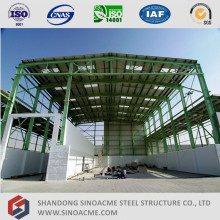 Armazón de estructura de acero ligero de alta elevación Prefab