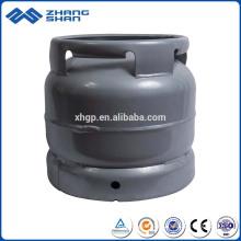 Réservoir de GPL de cylindre de gaz composé 6KG pour la maison utilisée