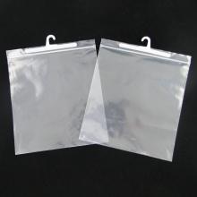 Подгонянная рециркулируя пластичная вися крюка упаковывая мешок для одеяния