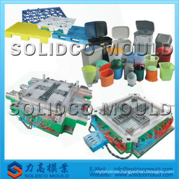 Plastic basin and pallet mould / injection mould