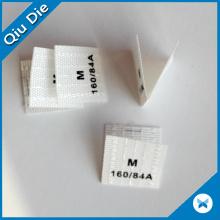 Custom Privat Garment Polyester Sock Label for Clothing Brand Design