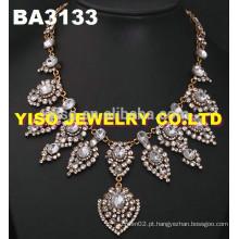Conjunto de jóias de cristal de estilo novo