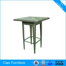 Table de bar meubles en osier