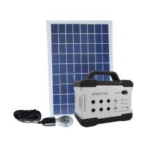 DC sistema solar solar de 12v 5w 4ah para el sistema del hogar del surtidor 5w / 12v del teléfono móvil del ventilador para la iluminación casera