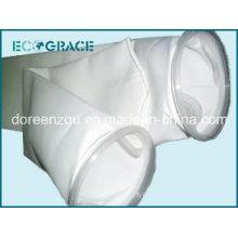 Glatte Oberfläche PE-Gewebe-Flüssigkeitsfilter-Beutel für Abwasserbehandlung