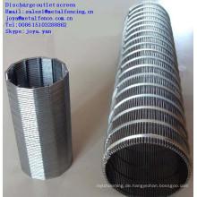Rostfreier Stahl Johnson-Brunnenfilterrohr
