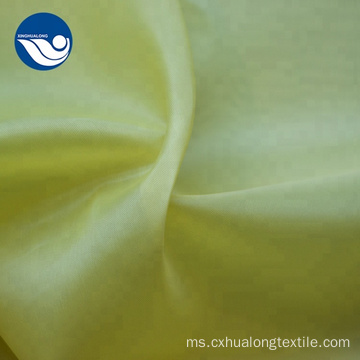 Anti-Statik Shrink-Resistant Soft Polyester Taffeta Fabric