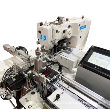 QS-436-ATB Electronic fully automatic auto cut auto feed direct drive elastic jointing industrial sewing machine