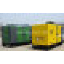 Pabellón insonoro del generador silencioso del generador diesel de 250kVA 200vw CUMMINS