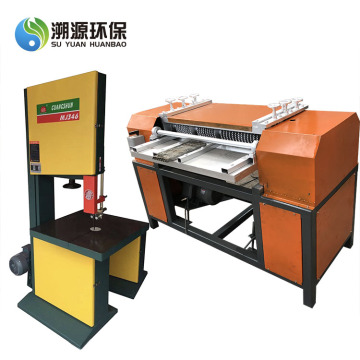 Overseas Service Provided Radiator Recycling Machine
