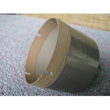 usine d'approvisionnement foret 64 mm / frittage diamant & bronze drill bit/queue conique mèche / foret pour verre de forage au diamant