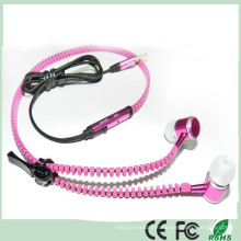 Top Quality Stereo Zipper Earphone Earbuds From China Factory (K-914)