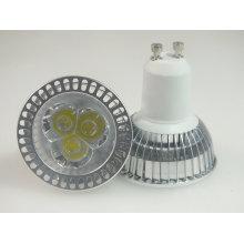 Bulbo de alta potencia LED GU10 de Paypal 3X1w LED