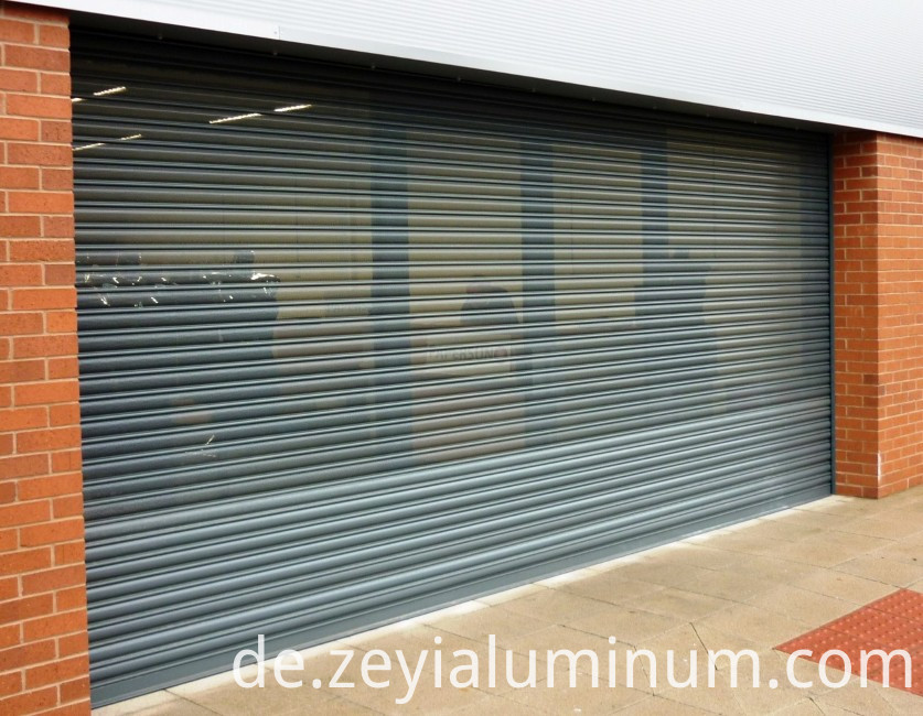 Colorful Oem Aluminum Extrusion Profile For Rolling Shutter