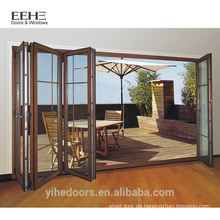 Neues Modell Aluminium Falttür Grill Design Terrasse Tür