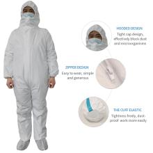 Combinaison jetable de protection de vêtements