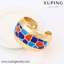 51471 Xuping Summery Indian Style Gold jewelry Colorful Bangle For Sale