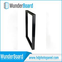 PS Fotorahmen für Wunderboard Sublimation Aluminiumbleche Schwarz