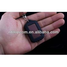 Mini promotional 3LED solar keychain flashlight kids Led flashlight keychain