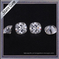 Venda quente 9X9mm Coxim Forma Tamanho Grande Branco Sintético Moissanite Diamante