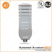 Наружное освещение дороги 23100lm 210W Светодиодный уличный фонарь DLC
