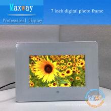 PVC quadro 7 polegadas moldura digital