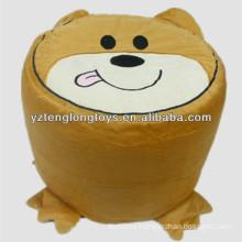 Taburete inflable animal lindo para niños