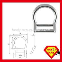 AD241 Alumínio Forjado Alloy Equipamentos de Proteção D-ring de segurança