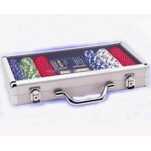 Aluminum Poker Chip Case New Red