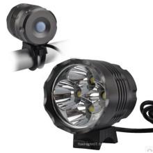 4800 Lumens CREE Xm-L 4 X CREE T6 LED Bicyclette / Bicyclette Light / Headlamp / Headlight CE RoHS