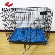 Cage pliable d'intérieur en gros de chat, cage en métal bon marché de chat Malaisie