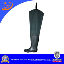 Best Fashion Nylon Hip Wader with Rubber Boot (6696AN)