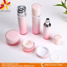 high grade acrylic pump lotion bleach plastic bottles