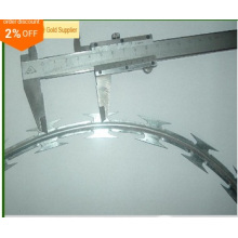 Hot Sale Hot Dipped Galvanized Bto-22 450, 600, 700, 900, 960mm Concertina Razor Barbed Wire