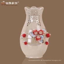 modernes Haus zu Hause dekoriert Porzellan Vase in Shampaign Farbe