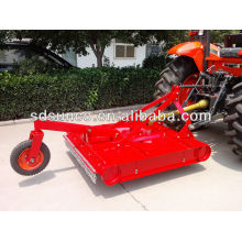 Tractor mounted grass rotary mower by PTO Driven
