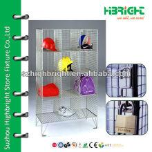Metal wire mesh lockers