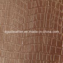 Crocodile Designs Fourrure De Renfort Cuir Semi-PU (QDL-52075)