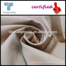 tecido de cetim cor cáqui com elastano para calças/95 5 do spandex tecido matéria têxtil de algodão para uniforme