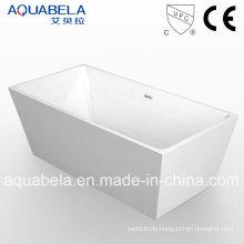 Cupc genehmigt Sanitär Ware Freistehende Acryl Badewanne Dusche Encloser (JL608)