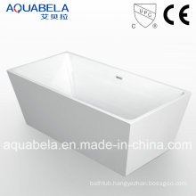 Cupc Approved Sanitary Ware Freestanding Acrylic Bathtub Shower Encloser (JL608)