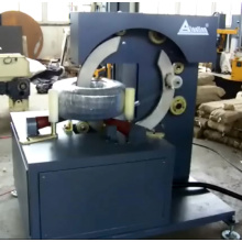 Tyres Packing Ring Coil Wrapping Machine
