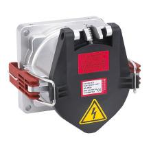 Prise de courant IP67 200A 5Pin 400V Ac UK à montage sur panneau